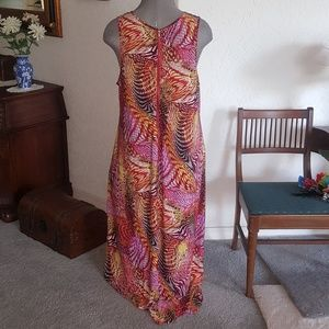 Dots Dresses - JEWEL ACCENTED * MULTI~COLORED * MAXI~DRESS BBW 3x